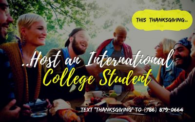 Host an International Student this Thanksgiving